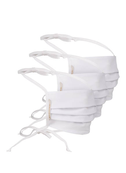 Baldessarini 3er-Set Masken weiss in Weiss