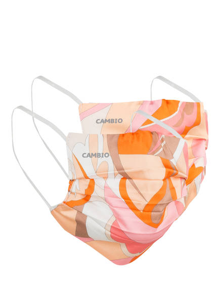 Cambio 2er-Set Masken rosa in Orange